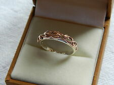 Clogau Silver & Welsh Gold Tree of Life Ring size M RRP £280.00