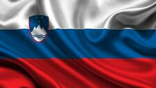 NOVO - ZASTAVA SLOVENIJA - 5'x3' ft(91 x 151 cm) ZASTAVA Slovenian Flag