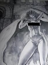 Hellfire KIM DeMULDER Erotic Fantasy Art print