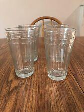 4 Longaberger Basket Glassware 16 Oz