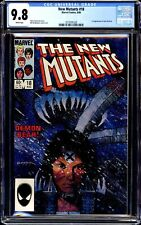 NEW MUTANTS 18 CGC 9.8 WHITE PAGES 1ST NEW WARLOCK AND DEMON BEAR!