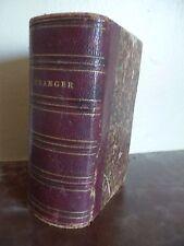 CHANSONS DE BERANGER 1833 PERROTIN PARIS IN 18 ABE (SANS PAGE DE TITRE)