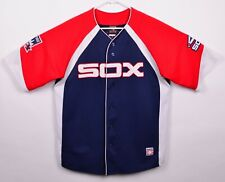 8a5c66a2a88 Chicago White Sox Mens Sz Medium Carlton Fisk Sewn Cooperstown Collection  Jersey