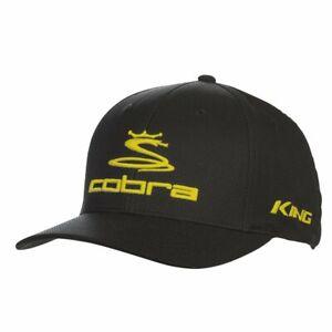 Cobra Pro Tour Stretch Fit Golf Cap Snake & King Logos Pick Hat