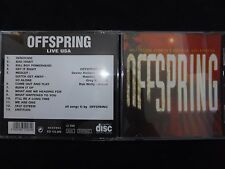 CD OFFSPRING / LIVE USA / RARE /