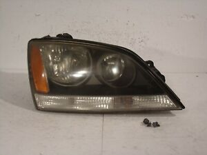 05 06 KIA SORENTO BLACK PASSENGER RIGHT HEADLIGHT LAMP LENS ASSEMBLY #K356