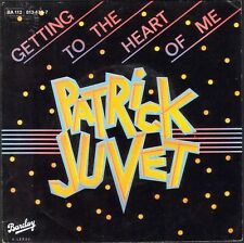 PATRICK JUVET GETTING TO THE HEART OF ME 45T SP 1983 BARCLAY 813.476