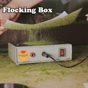One Lot Flock Box Static Grass Flocking Applicator Machine 120g Grass Powder