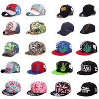 New Mens Womens Baseball Cap Hip-Hop Hat Adjustable Snapback Sport Unisex Gift