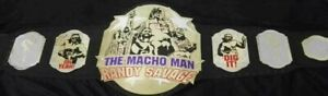 MACHO MAN RANDY SAVAGE CHAMPIONSHIP BELT ADULT SIZE