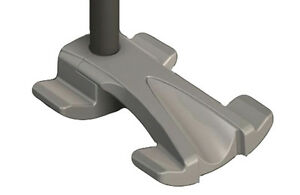 CLEARANCE Universal Tru-Stride Cane Tip - Heavy Duty Traction, Fits 19mm Canes.