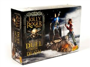 Lindberg Jolly Roger Series: Duel with Death 1/12 Model Kit HL616