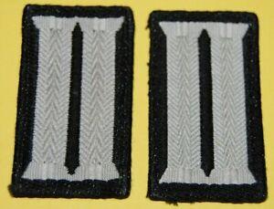 Bundeswehr 1 Paar Kragenspiegel für die Pioniere beim Heer, alte Form