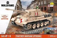 COBI  PzKpfw. V Panther  / 3035 / 505 pcs blocks WWII German Tank Small Army