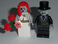 HALLOWEEN #20 Lego Bride & Groom Zombies NEW Monster Fighters Genuine Lego Parts