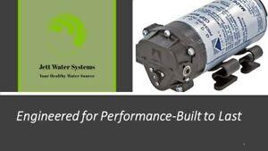 Aquatec CDP-8800 RO Booster Pump-CDP 8852-2JO3-B423 (Pump/Transformer Options)