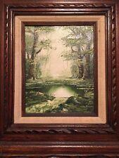 Famous listed  Artist SCHILLER , Original Oil Painting Mystical Landscape