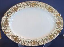 Noritake Pattern Gold Christmas Ball ~ Large Oval/Meat  Platter 175 ~ Pristine