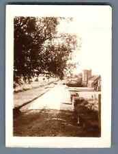 France, Grosrouvre (Yvelines), La Ferme du Breuil  Vintage silver print.  Tira