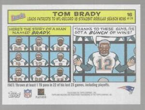 """2005 Topps Bazooka Tom Brady """"Brady Bunch"""" Comic #16 Patriots # 431 NM/MT RC"""
