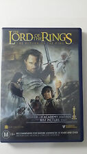 The Lord Of The Rings 3: The Return of The King (2003) 2 Disc R4 DVD