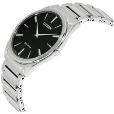 Citizen Men's Eco Drive Stiletto Ultra Thin Sapphire Watch - AR3070-55E- New