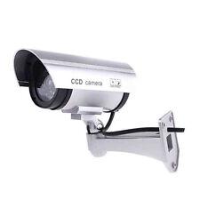 Caméra de Sécurité Factice Intérieur Extérieur avec LED rouge clignotant