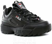 Fila Mens 1FM00622 Leather Low Top Lace Up Fashion, Black/Black, Size 12.0 tGjR