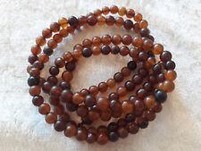 10 Perles d'Ambre naturelle semi-précieuses