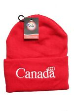 CANADA Country Flag With WHITE Title RED TOQUE HAT..VIVA SOUVENIRS..New