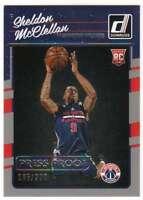 2016-17 Donruss Basketball RC Press Proof Silver /299 #199 Sheldon McClellan