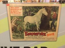 SNOWFIRE-LOBBY CARD 8-1958