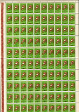 "1 FULL SHEETS = 100 STAMP / ROMANIA 1962 ""FOOTBALL,UEFA"" MNH - VERY RARE"