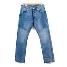 Levis 501 Big E denim jeans mens 33x32 Premium V Stitch Rare Block Seam Front