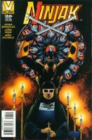 Ninjak 26 Final Issue Valiant Dr Silk Mike DeCarlo Mike Manley Low Print Run NM