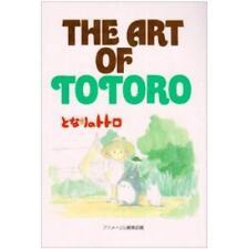 The art of Totoro illustration art book