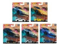 Hot Wheels 2019 Car Culture Street Tuners Series Set of 5 Cars, 1/64 FPY86-956L