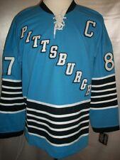 "Sidney Crosby Pittsburgh Penguins Blue ""1967-68 Throwback"" CCM NHL Jersey Medium"