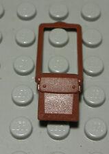 Lego Figur Zubehör Tasche new Braun                                      (196 #)