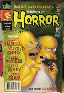 The Simpsons Treehouse Of Horror Comic #7  Matt Groening / Bongo Comics