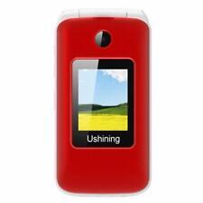 Ushining 3G Unlocked Flip Cell Phone for Senior  Kids,Easy-to-Use Big Button