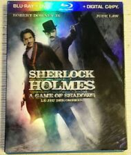 Sherlock Holmes: A Game of Shadows (Blu-ray/DVD, 2012,) w/slipcover