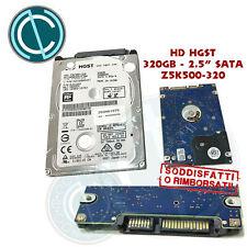 HARD DISK HD HDD HGST TRAVELSTAR Z5K500 320GB SATA ULTRA SLIM MACBOOK NOTEBOOK