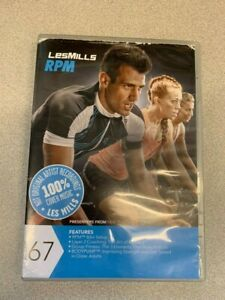 Les Mills RPM 67 DVD, CD, Notes cycling spinning