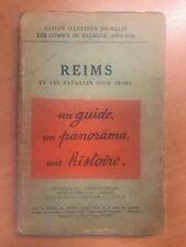Michelin Champs de Bataille Reims et les batailles pour Reims