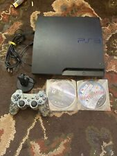 Sony PlayStation 3 PS3 Console CECH-2501A 320gb  1 Controller Games Bundle Lot