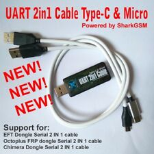 UART 2-in-1 Type-c&Micro Cable for Chimera Octoplus EFT for Repair