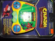 Vintage~1998~Tiger~Electronics~handheld~CRASH~BANDICOOT~video~games~playstation~