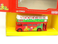 Corgi 1/64 - Bus Autobus Christmas Routemaster Kowloon Motor Open Top Bus