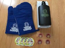11 Piece Cooking Mama Fan Pack Promo Goodies: Stickers, Oven Mitts, Canteen NEW